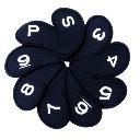 Neoprene Iron Cover 9 Piece Set / NAVY