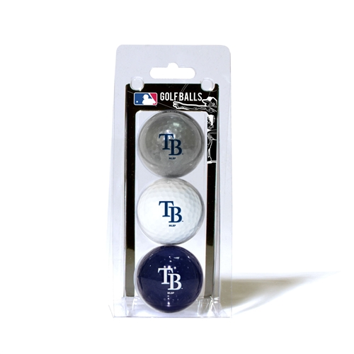 Tampa Bay Rays 3 Ball Pack