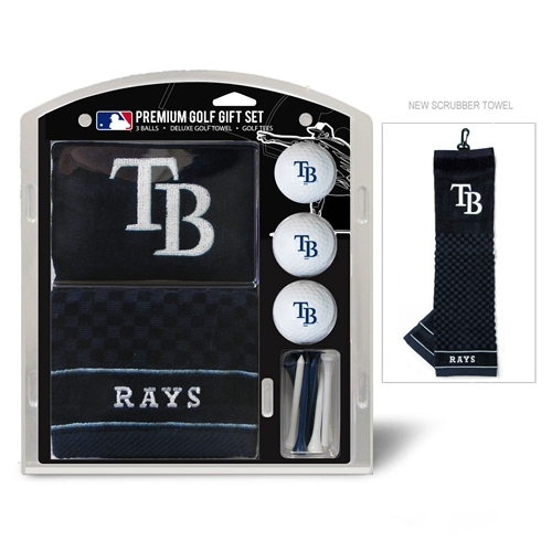 Tampa Bay Rays Embroidered Towel Gift Set