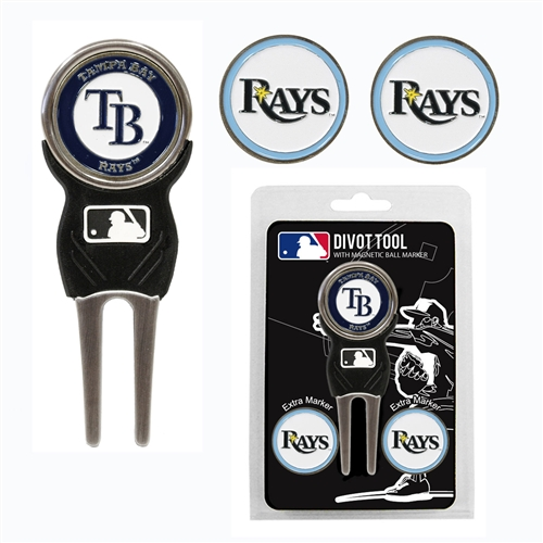 Tampa Bay Rays Divot Tool Pack