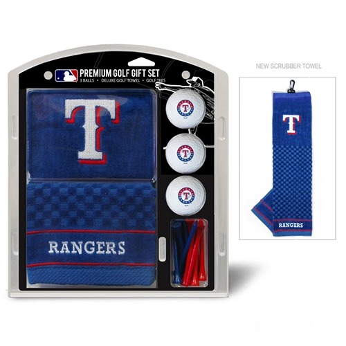 Texas Rangers Embroidered Towel Gift Set