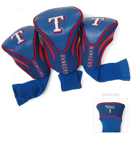 Texas Rangers 3 Pk Contour Headcover Set