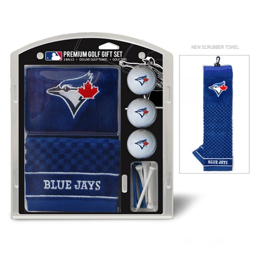 Toronto Blue Jays Embroidered Towel Gift Set