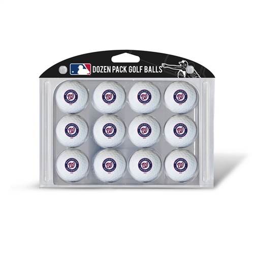 Washington Nationals Dozen Ball Pack
