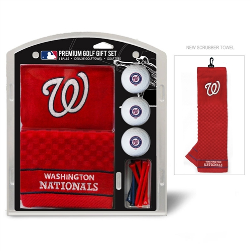 Washington Nationals Embroidered Towel Gift Set