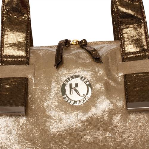"""Gimmie"" - Vintage Champagne Bag"