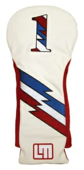Loudmouth Retro Driver Golf Headcover