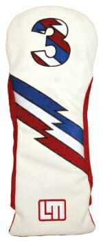 Loudmouth Retro Fairway Golf Headcover