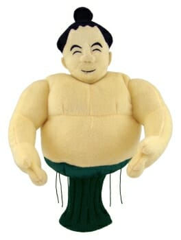 Sumo Wrestler Golf Headcover