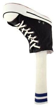 Black Sneaker Golf Headcover