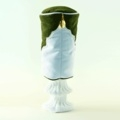 """""""Green with Envy"""" Green/White Headcover"""