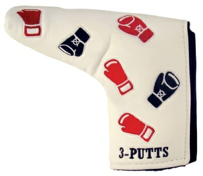 3 Putts Putter Cover - Knock Out