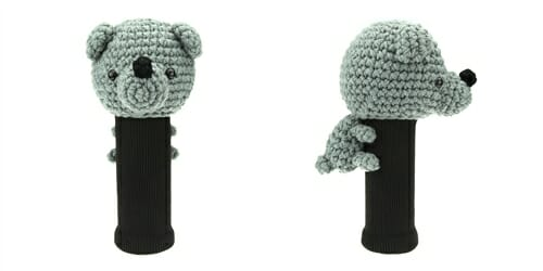 AmiFairway - Bear Headcover - Gray
