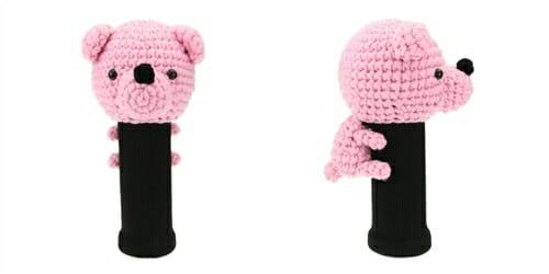 AmiFairway - Bear Headcover - Pink