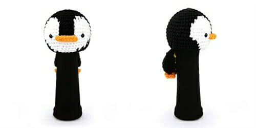 AmiFairway - Penguin Headcover - Black / White