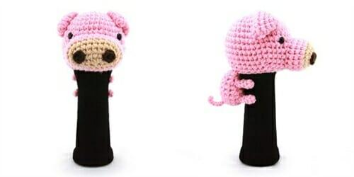 AmiFairway - Pig Headcover