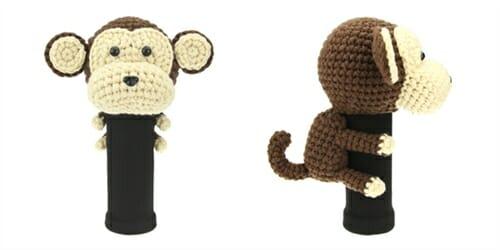 AmiFairway - Monkey Headcover - Brown