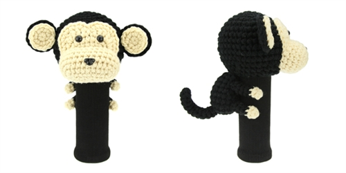 AmiFairway - Monkey Headcover - Black