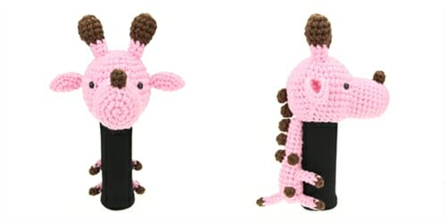 AmiFairway - Giraffe Headcover - Pink