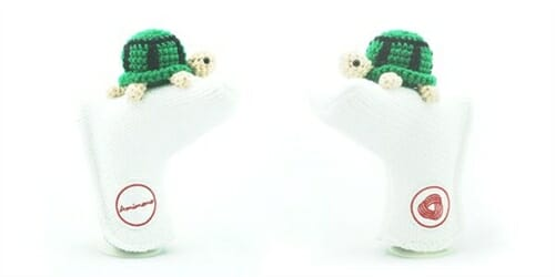 AmiPutter - Turtle - White / Green