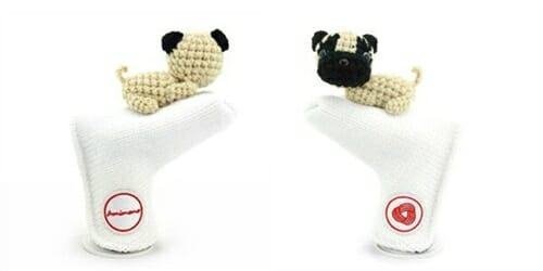 AmiPutter - Pug - White / Beige