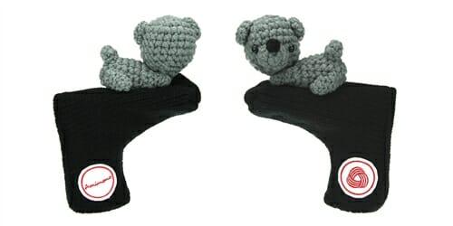 AmiPutter - Bear - Black / Gray