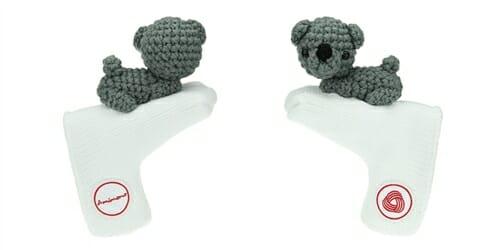 AmiPutter - Bear - White / Gray