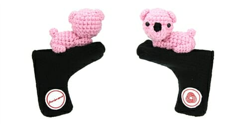 AmiPutter - Bear - Black / Pink