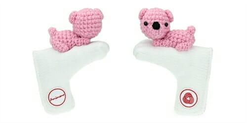 AmiPutter - Bear - White / Pink