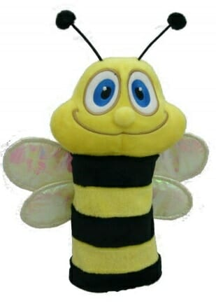 daphne's bumble bee hybrid golf headcover