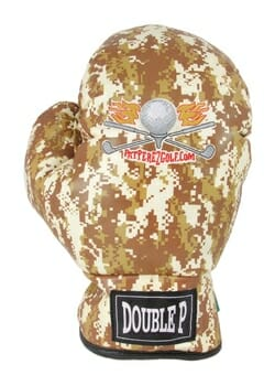 Pat Perez Camouflage Boxing Glove Golf Headcover
