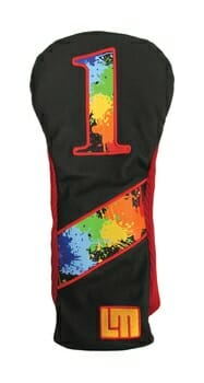 Loudmouth Retro Paintball Driver Golf Headcover
