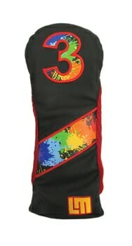 Loudmouth Retro Paintball Fairway Golf Headcover
