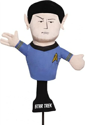 creative covers commander spock golf headcover