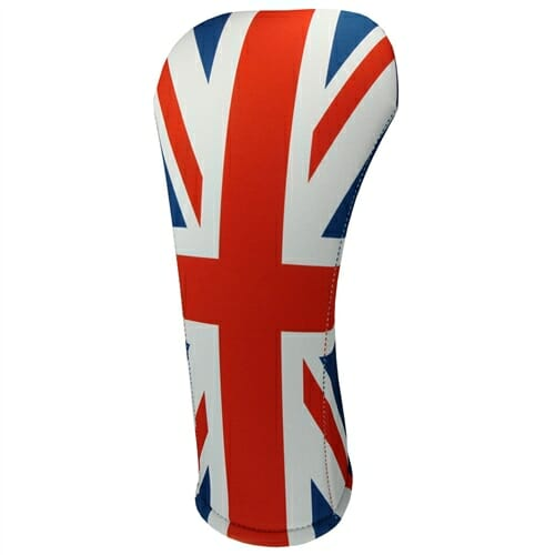 beejo's united kingdom flag driver golf headcover