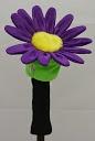 daphne's purple daisy golf headcover