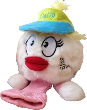 daphne's daisy de ball golf headcover