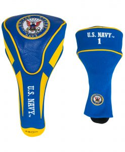 team golf US navy driver golf headcover