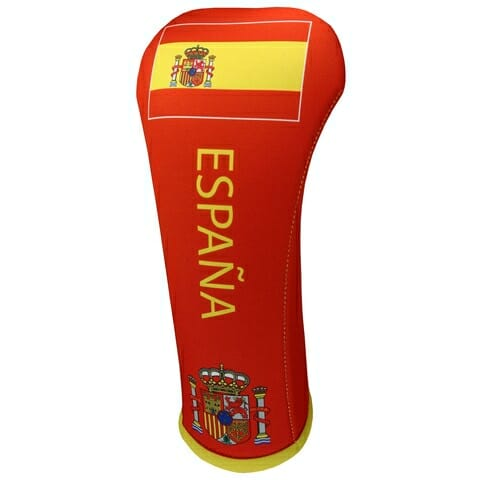 spain flag driver golf headcover