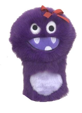 daphne's purple monster golf headcover