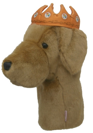 daphne's yellow lab crown golf headcover