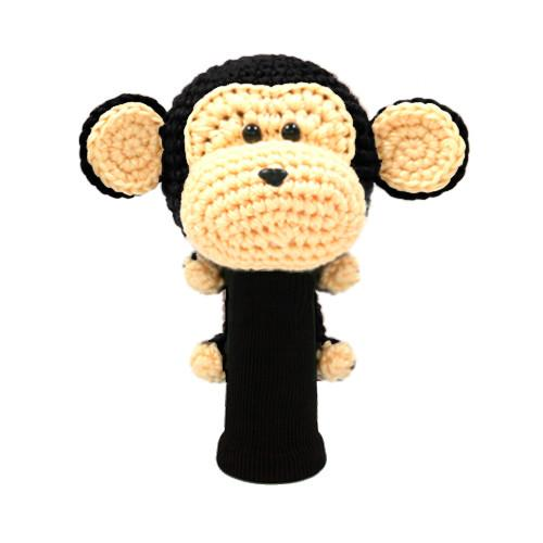 monkey black driver golf headcover