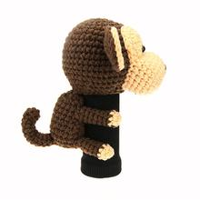 monkey brown driver golf headcover