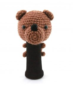 amimono bear brown driver golf headcover