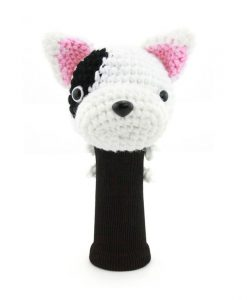 bull terrier driver golf headcover