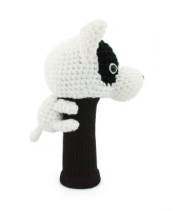 bull terrier driver golf headcover side