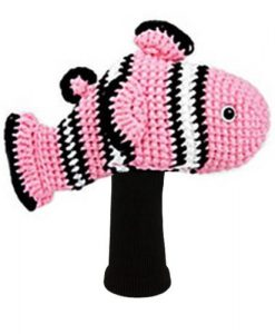 clownfish pink driver golf headcover