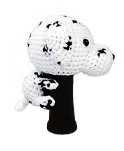 amimono dalmation driver golf headcover side