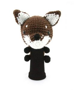 fox brown driver golf headcover