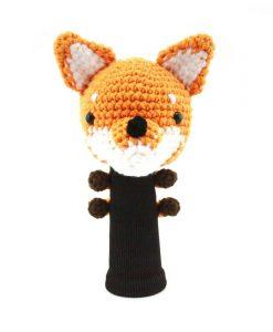 fox orange driver golf headcover